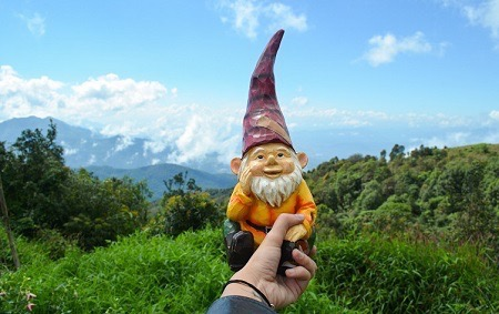 Gnome in Thailand by Ana Montano of Gnome Trotting