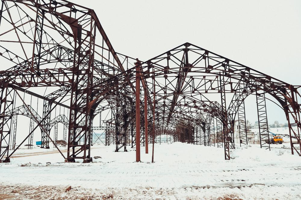 Ажурные пакгаузы на Стрелке - уникальный объект культурного наследия из 19 века (плюс фото речного порта до его уничтожения)