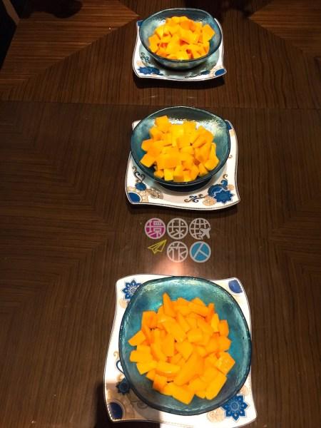 揭曉:(上) 阿芳素芒、(中) 菲律賓芒、 (下)中國芒