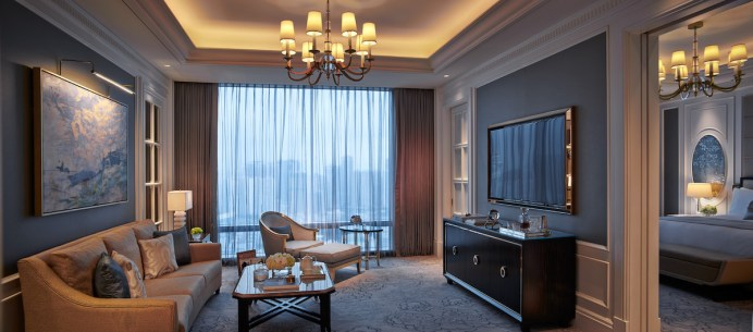 The Ritz-Carlton - Premier Suite's Living Room