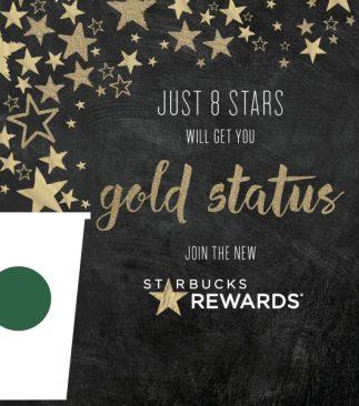 Starbucks Rewards_Gold Status