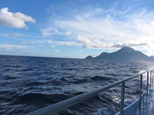 Taking the Saba Ferry