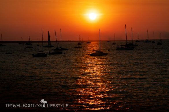 Darwin sunset   Travel Boating Lifestyle