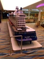 Mein Schiff 4 Entdeckertag - Inneneinrichtung der Mein Schiff 4