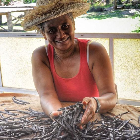 Tata'a staat bekend als het 'Vanille Eiland', en een bezoek aan een vanilleplantage is er dan ook een must.