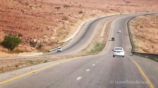 Jordanië Desert Highway