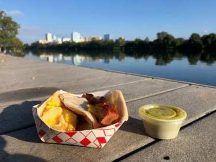 Brakfast tacos in Austin Texas at travelcon