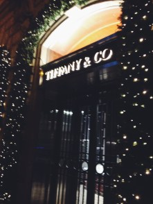 Tiffany and Co in Rome