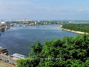 Dnipro river, Kiyv, Ukraine