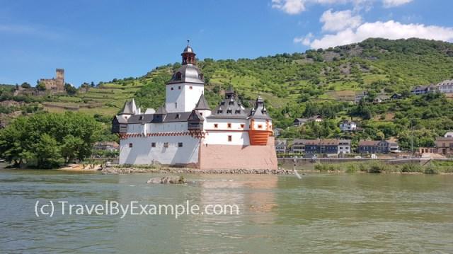 Pfalzgrafenstein Castle on Rhine