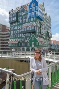Eye-catching architecture in Zaandam