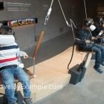Experiencing VR in the Waterline museum