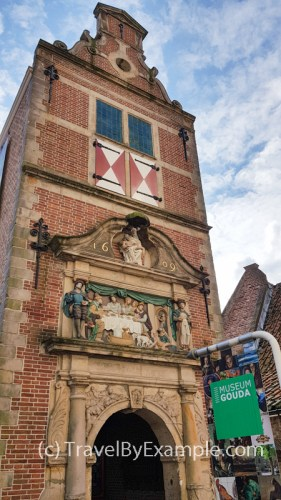 Entrance to Gouda Museum
