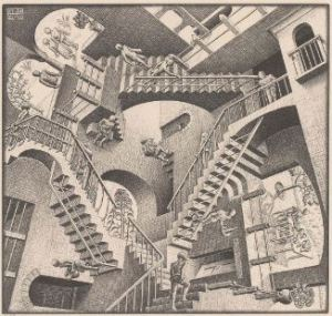 Relativity by Escher