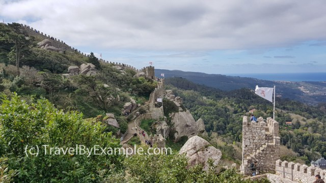Walk along the walls of Moorish Castle