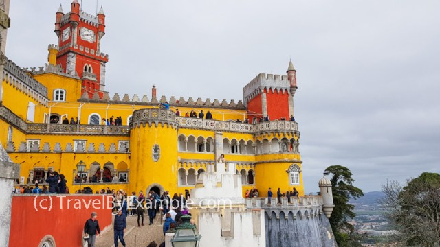 Colorful palace of Pena