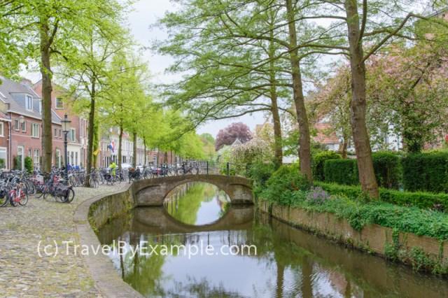 Charming streets of Amersfoort