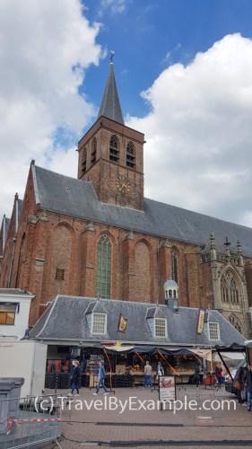 Sint-Joriskerk church at Hof central square