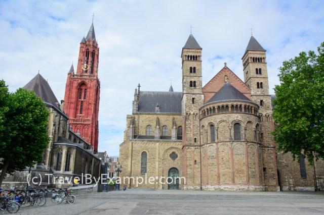 Basilica of Saint Servatius and St. John Church on the Vrijthof