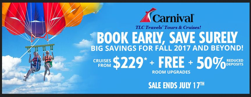 Carnival Cruises and Offers Not to be Missed!