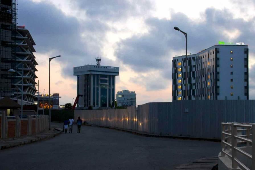 Flughafengebiet Accra