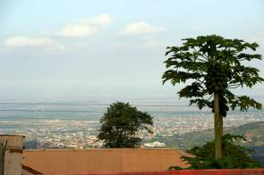 Aburi Ghana view