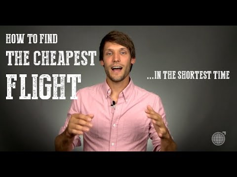 How To Find The Cheapest Flight In The Shortest Time