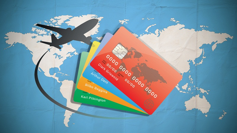 Travelers opting for credit cards