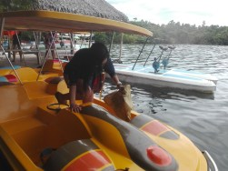 Ride at Lake Danao