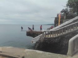 Cliff Diving Buho Rock Resort