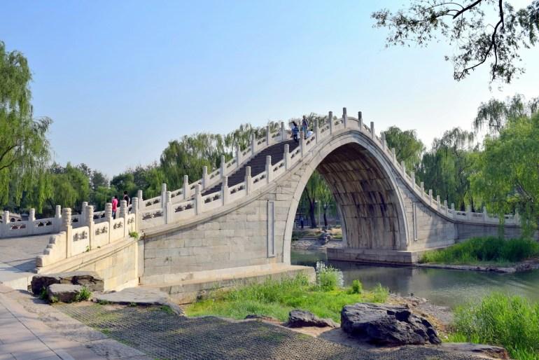גשר ש'יו-אי. גשר אבן בעל קימור גדול במיוחד