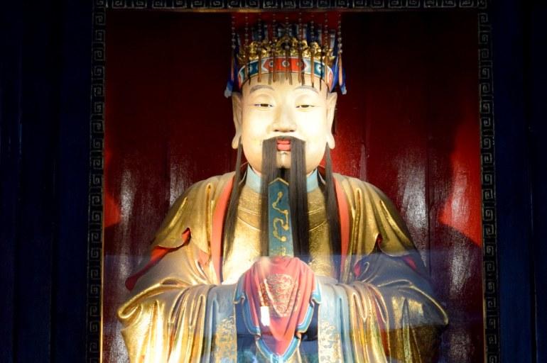 ליו ביי, קיסר שו (צילום: טל ניצן)