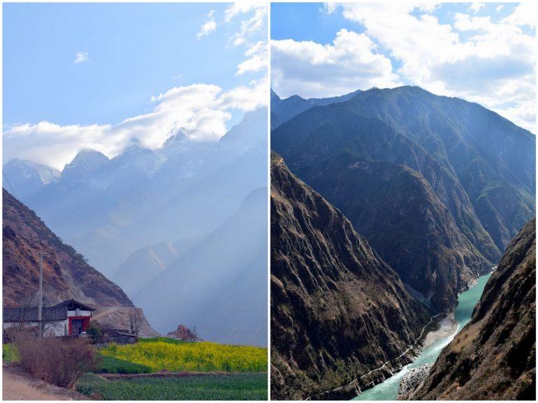 נופים שונים לאורך המסלול (צילום: טל ניצן)