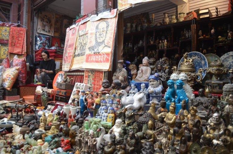 חנות בשוק הקליגראפיה והאומנות (צילום: נוגה פייגה)
