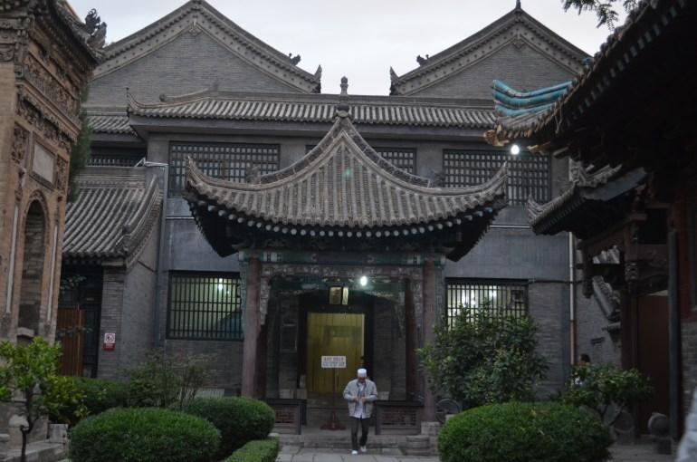המסגד הגדול - דוגמא ייחודית של שילוב בין ארכיטקטורה סינית לבין אדריכלות איסלאמית (צילום: נוגה פייגה)