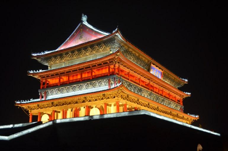מגדל התוף של ש'י-אן (צילום: נוגה פייגה)