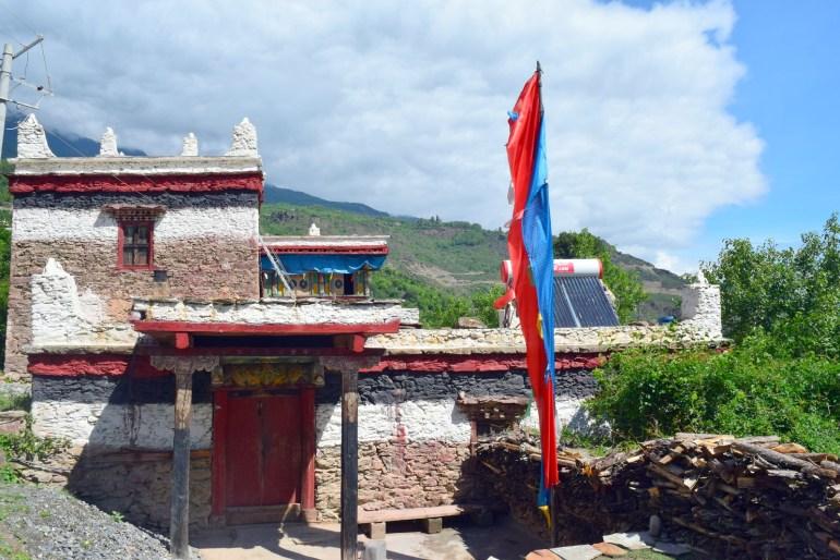 בית לדוגמה בכפר ג'יאג'ו (צילום: טל ניצן)