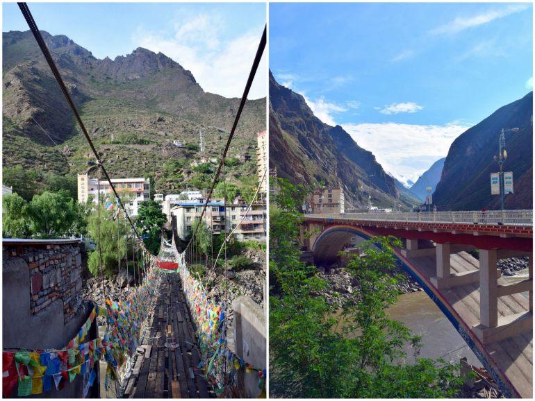 הגשרים של דז'אנג-גו (צילום: טל ניצן)