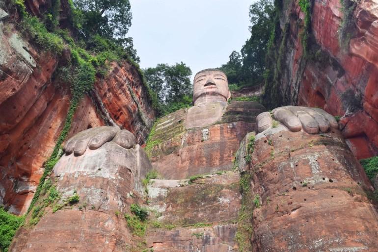 הבודהה הגדול בלשאן (צילום: טל ניצן)