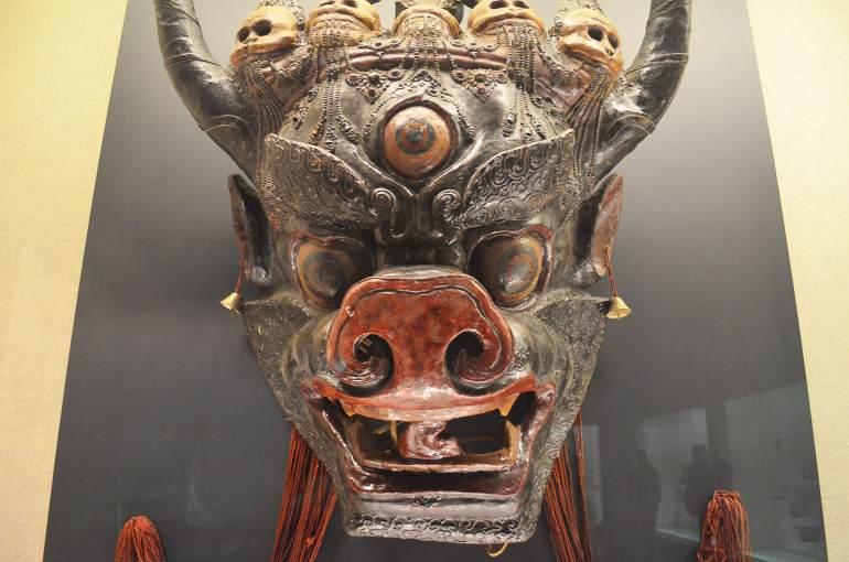 מסכה טיבטית (צילום: נוגה פייגה)
