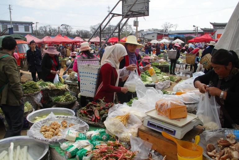 שווקים אותנטיים בדאלי (צילום: יובל לוי)