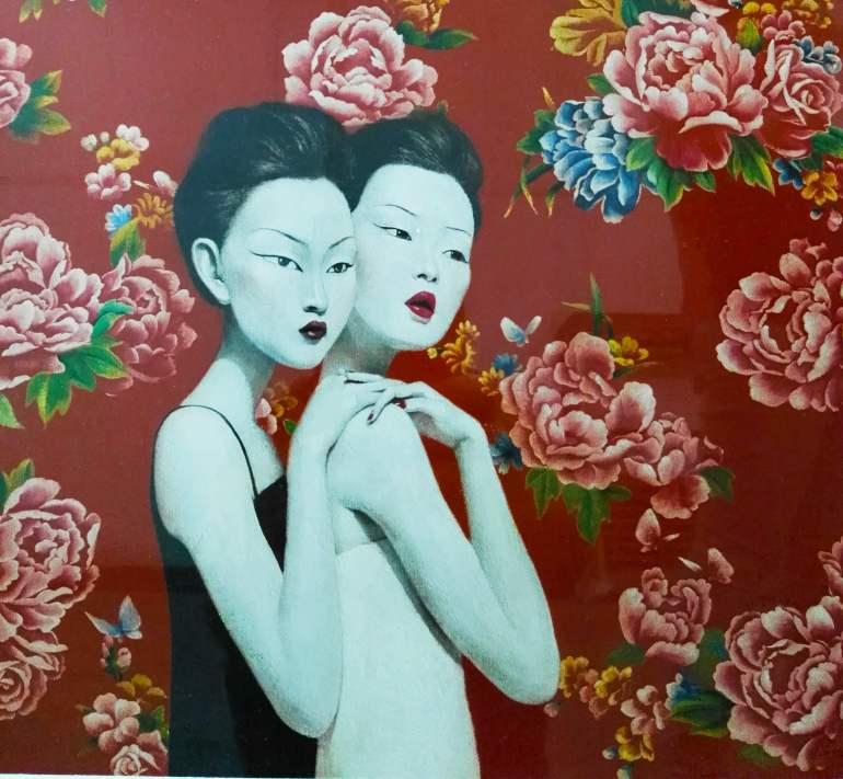 שימוש חוזר ביצירות בצבע אדום (צילום: נוגה פייגה)