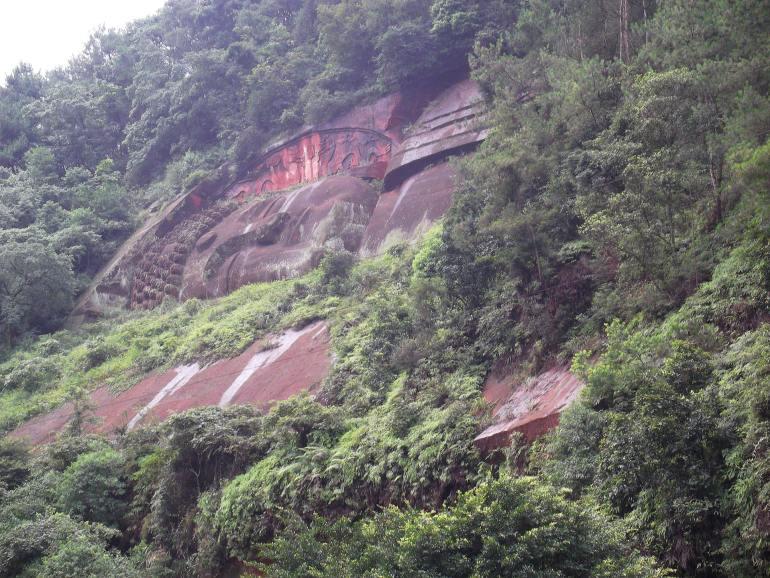 הבודהה השוכב בפארק הבודהה האוריינטלי (צילום: נוגה פייגה)