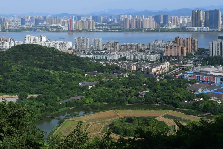 שדה הבא-גואה. מבט מגבעת יו-חואנג (צילום: טל ניצן)