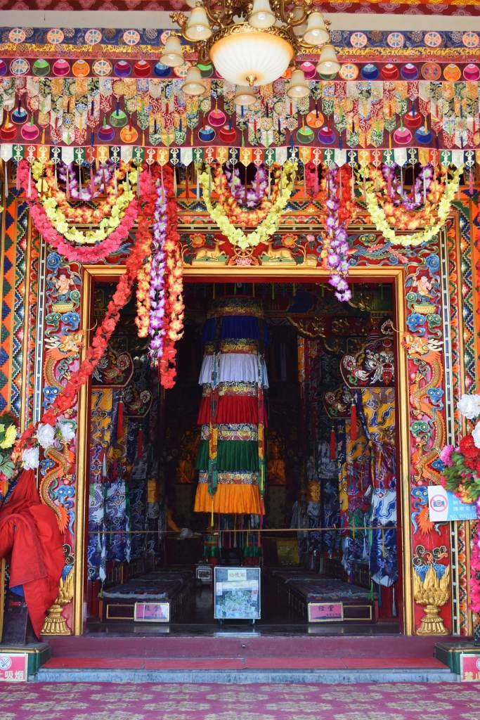 מנזר סונג-דזאן-לין. צבעוניות משגעת (צילום: טל ניצן)