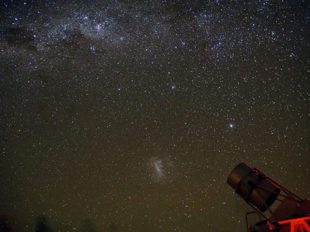Observation astronomique du ciel d'Atacama au Chili