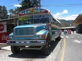 The chicken bus to Boquete - or is it the Taj Mahal?