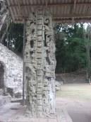 A Copan sculpture