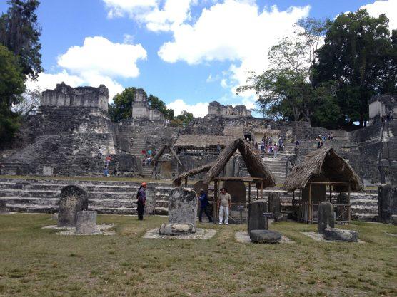 The Tikal ruins
