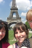 Selfie with the Elfie. Ok so it's Eiffel not Elfie but I do like a rhyme. This was a few years ago before selfies were really a thing. I love it because my niece is the only one properly in view and the trip was her 16th birthday present. I've lost count of how many times I've been to Paris and I still love it.